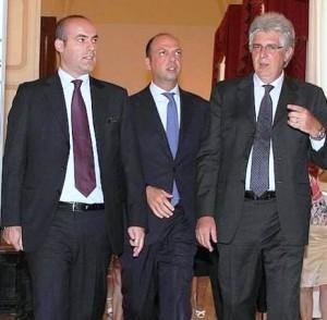 D'Angelo, Alfano e il Prefetto Diomede