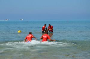 Intervento Bagnini spiaggia di Marianello
