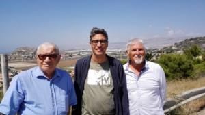 Pif, Carmelo Incorvaia e Elio Arnone a Mollarella