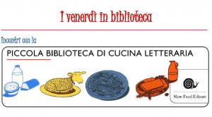 piccola biblioteca cucina letteraria locandina (2)