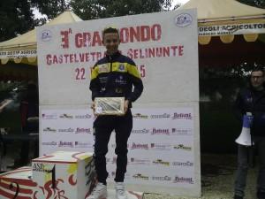 Il ciclista licatese Salvatore Zarbo