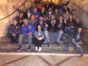 Foto di gruppo durante i festeggiamenti