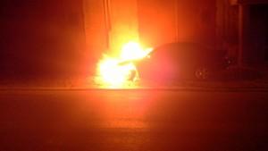 mercedes in fiamme 2