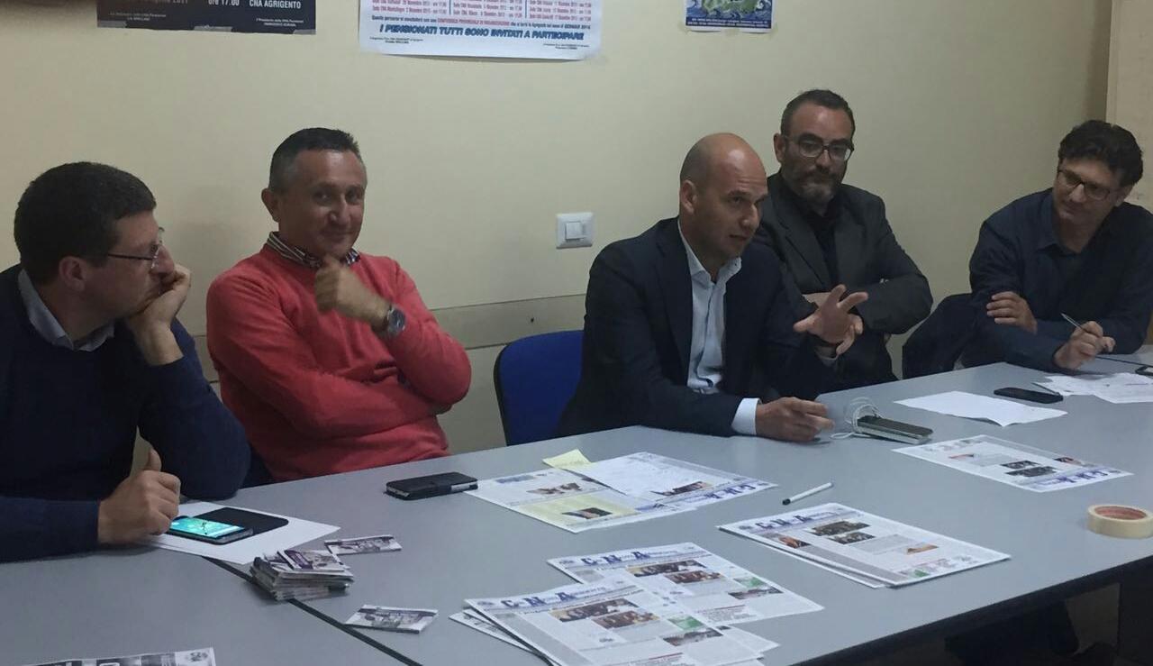 Cna, Piero Caico rieletto presidente della segreteria territoriale - Licatanet (Comunicati Stampa) (Registrazione)