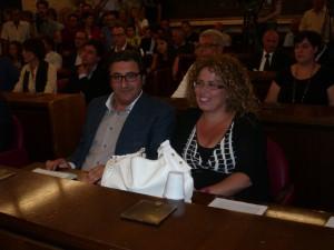 Enzo Sica e Tiziana Alesci, consiglieri del Pd