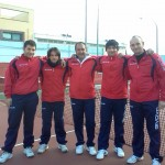 I 5 tennisti del Tc Sant'Angelo