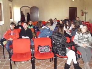 I baby consiglieri comunali ieri al Carmine