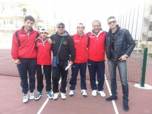 La squadra del T. C. Sant'Angelo promossa in serie B