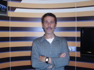 Lo scrittore messinese Antonio Mazzeo