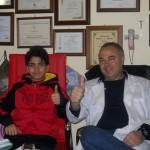 Luca Potenza e il dottor Tamburo