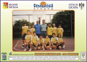 MATTEO IMBRO' E ILARIA MILAZZO REGIONALI 2005-06 ESORDIENTI