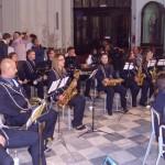 Un momento del concerto in Chiesa madre