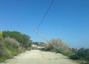 palo pericoloso Contrada Colonne