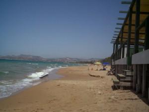 spiaggia La Rocca